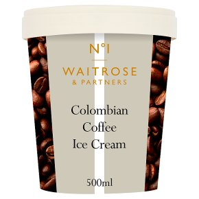 Waitrose 1 Colombian Coffee Ice Cream