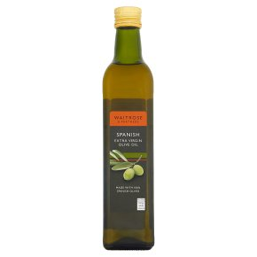 Waitrose 100% Spanish extra virgin olive oil