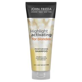 Sheer blonde moisturising platinum shampoo