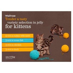 Waitrose kitten special recipe selection