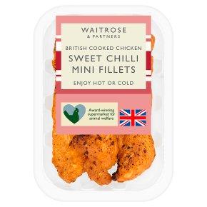 Waitrose British Chicken Sweet Chilli Mini Fillets