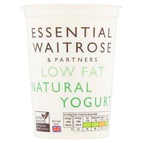 essential Waitrose low fat natural yogurt