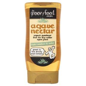Groovy Food Co organic light & mild agave nectar