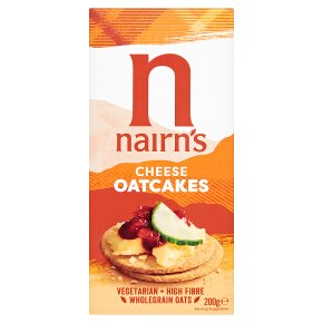 Nairn's cheese oat cakes