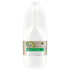 Waitrose Duchy Semi Skimmed Milk