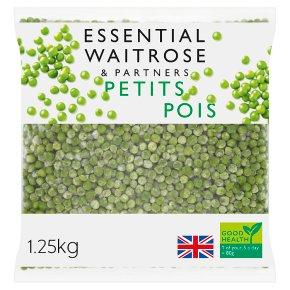 essential Waitrose FRZ GB Petits Pois