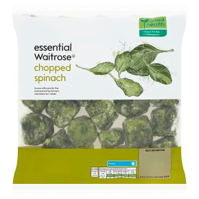essential Waitrose Chopped Spinach