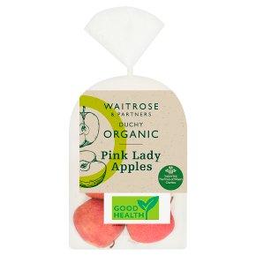 Waitrose Duchy Organic Pink Lady apples