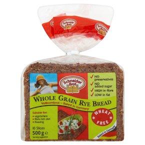 Schneider Brot German vollkornbrot - wholegrain rye bread