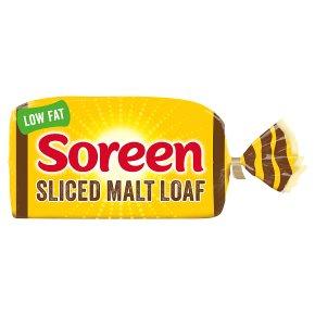Soreen fruity sliced malt loaf