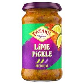 Patak's medium hot lime pickle