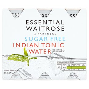 essential Waitrose sugar free indian tonic water