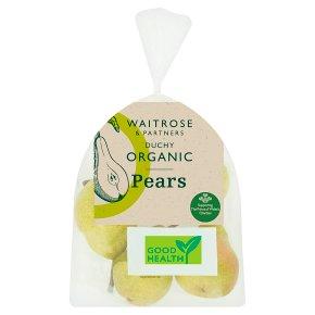 Waitrose Duchy Organic pears