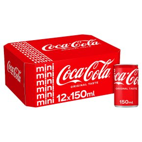 Coca-Cola mixer multipack cans