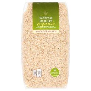Waitrose Duchy Organic whole grain rice