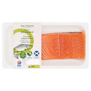 Waitrose Duchy 2 Salmon Fillets