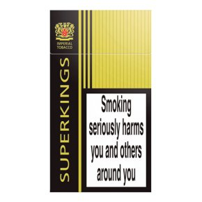 Superkings cigarettes