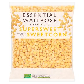 Essential Waitrose supersweet sweetcorn