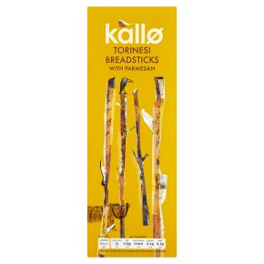 Kallo torinesi Parmesan cheese breadsticks