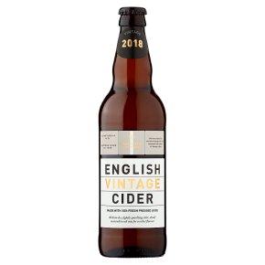 Waitrose vintage English cider