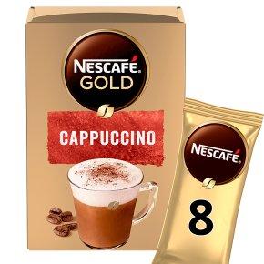 NESCAFÉ GOLD Cappuccino Coffee, 8 sachets