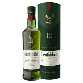 Glenfiddich 12-Year-Old Speyside Single Malt Whisky