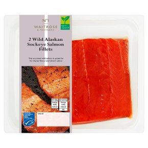 No.1 2 Wild Alaskan Salmon Fillets