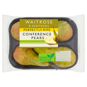 Waitrose 1 perfectly ripe conference pears