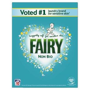 Fairy Non-Bio Washing Powder 10 Washes