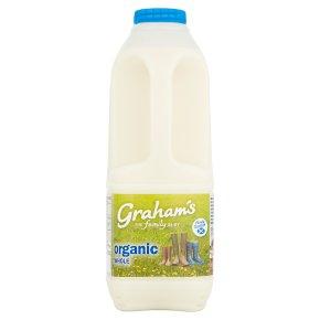 Graham's organic whole Scottish milk