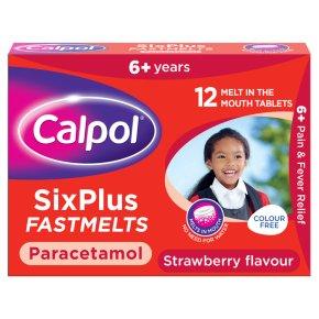 Calpol six plus fastmelts