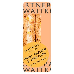 Waitrose chicken & sweetcorn sandwich