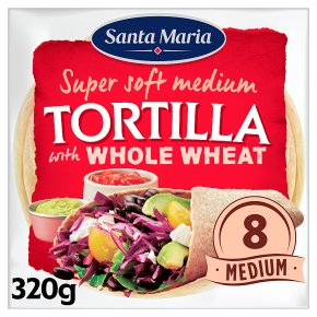 Santa Maria 8Wholemeal Tortillas