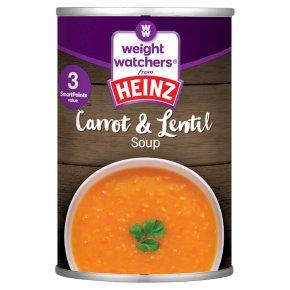 Weight Watchers from Heinz carrot & lentil soup