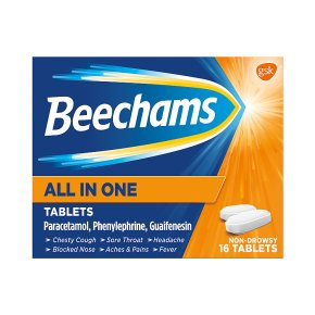 Beechams tablets all in one