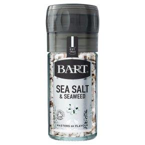 Bart organic sea salt & seaweed grinding mill