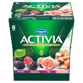 Activia red fruit yogurt variety pack