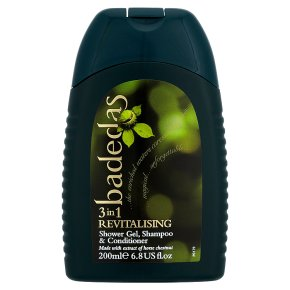 Badedas revitalising shower gel, shampoo & conditioner
