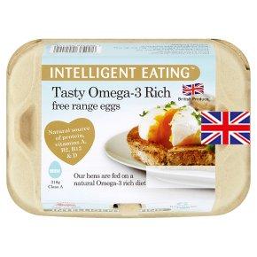 Intelligent Eating mixed weight British Omega-3 free range eggs