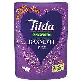 Tilda Brown Microwave Basmati Rice Classics