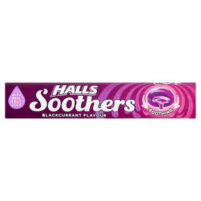 Halls Soothers Blackcurrant