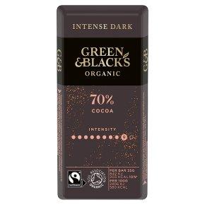 Green & Black's organic dark chocolate bar