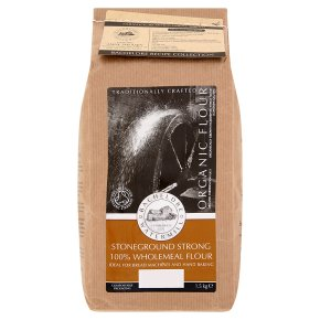 Bacheldre organic stoneground strong wholemeal flour
