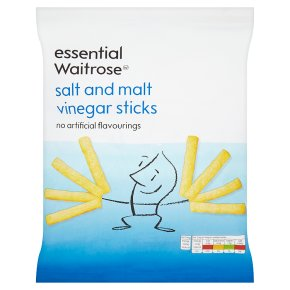 essential Waitrose salt & malt vinegar sticks
