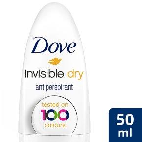 Dove Invisible Dry anti-perspirant roll on deodorant