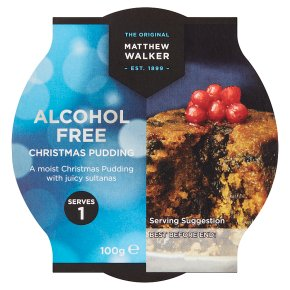 Matthew Walker nut & alcohol free Christmas pudding