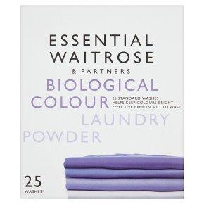 essential Waitrose colourcare washing powder, 22 washes