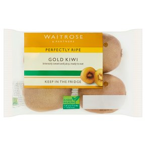 Waitrose 1 perfectly ripe golden kiwifruit