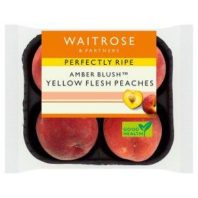 Perfectly Ripe yellow flesh peaches