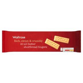 Waitrose Scottish butter shortbread fingers
